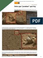 Las Reveladoras Fotos Que Prueban Que Hay Vida en Marte _ Curiosity, Marte, NASA - América