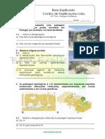 B 5.3 Ficha de Trabalho Paisagens Geológicas 2