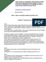 Legea 115-2015 Pentru Alegerea Autoritatilor Administratiei Publice Locale