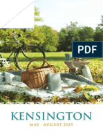 Kensington May - August 2015