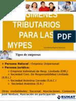 REGÍMENES TRIBUTARIOS EN PERU