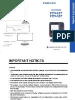 Furuno Fcv587 Fcv627 Operator's Manual