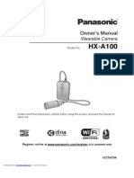 Hxa100d Owners Manual