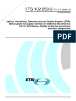 Quality of Service Parameters_ETSI_2003