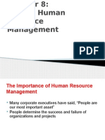 Chapter 08 - Project Human Resource Management