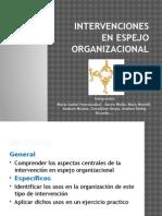 Intervenciones en Espejo Organizacional