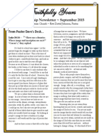 Sept 2015 Newsletter