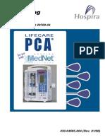 Abbott Hospira PCA III Mednet User Manual