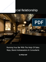 a Special Relationship Running Your Bar With the Help of Sales Reps Brand Ambassadors Consultants by Philip Duff