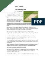 International Cricket @ GWALIOR