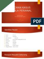 Ppt Fistula Perianal