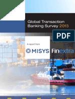 Misys GTB Survey Report 2013