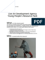 Young People's Resource Pack