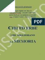 Cibi Ed Erbe Che Migliorano La Memoria-Fascicolo Gratuito
