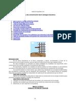 Conservacion Energia Mecanica