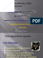 V Qa Sensory Methodology by Lc Bo