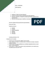 Aula 01- Prof. Antonio - Trato Gastrointestinal - Visão Geral - 06 de Agosto de 2015