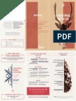 Abbey Christmas Brochure 2015
