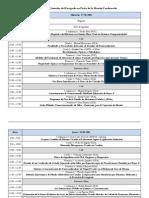 Programa de Las Jornadas Del PFMC