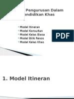 Model Pengurusan Pendidikan Khas-2