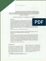 Obtencion Acido Acetico Extracto Levadura y Efluente Lacteo