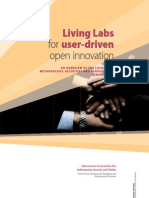 Living Labs for user-driven open innovation