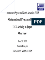 UAV Systems in Japan