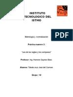 Practica2 Metrologia. Reglas y Compas.