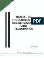 Manual de Procedimientos Del Servicio de Giro Telegráfico(31!07!13)