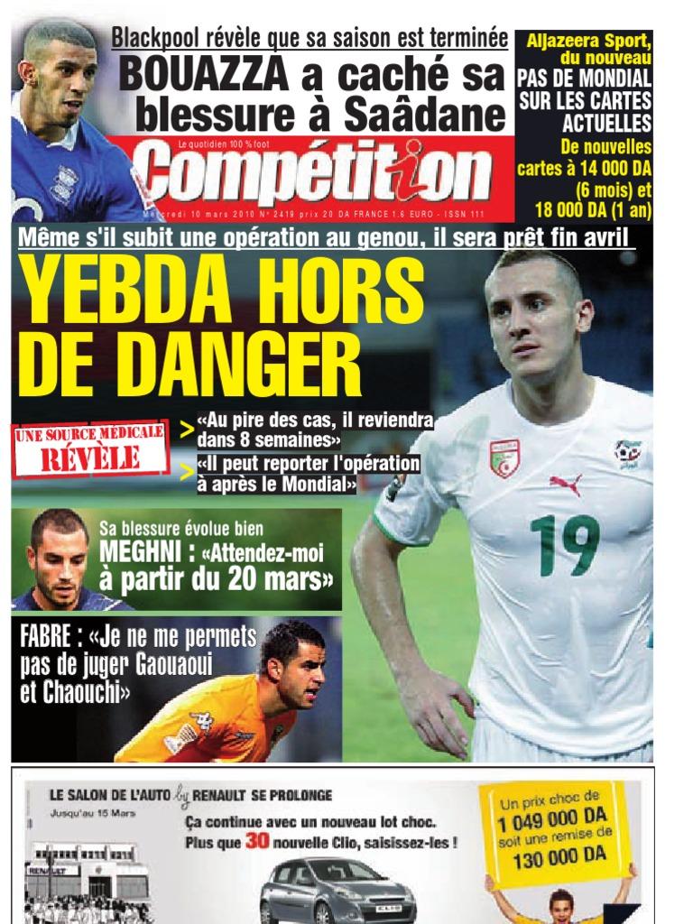 Edition du 10-03-2010   Real Madrid C F    Football