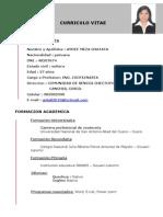 Curriculum Vitae, Aydee Mezaa