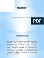 Clase Madera