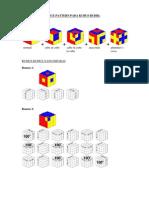 Cara Membuat Nice Pattern Pada Kubus Rubik