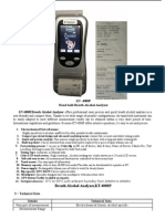 Alcohol Breath Analyzer, KT4000P,Inbuilt Printer-1