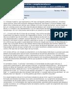 Exercícios Complementares - Formação Das Monarquias Nacionais e Mercantilismo