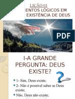 Argumentos Lógicos Da Existência de Deus