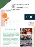 Reconocimiento Candelaria García Grupo 3