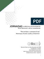Libro Jornadas UBA 2010