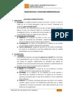 Funciones y Subfunciones Administrativas-Original
