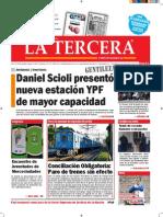 Diario La Tercera 16.09.2015