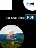The Great Transition New Economic Foundation