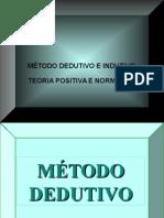 Apresentação - Metodo Dedutivo e Indutivo