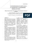Ferramentas Tecnológicas Na Educação a Distância Com Ênfase Na Universidade Federal Do Pará