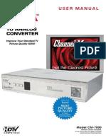 CM7000 User Manual