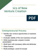 New Venture Creation-Final