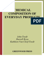Chemical Composition of Everyday Products
