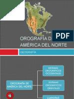 Orografia de America Del Norte