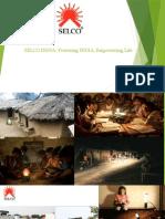 SELCO INDIA- Powering INDIA, Empowering Life