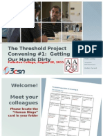 Threshold Convening #1 Ppt