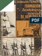 Formación Histórico social Venezuela